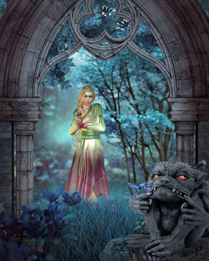 fairy, elf, fantasy